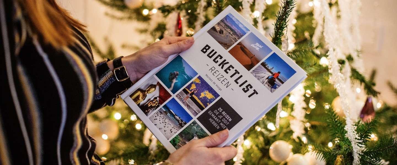 Cadeautip voor Kerst: geef reisboek Bucketlist Reizen!