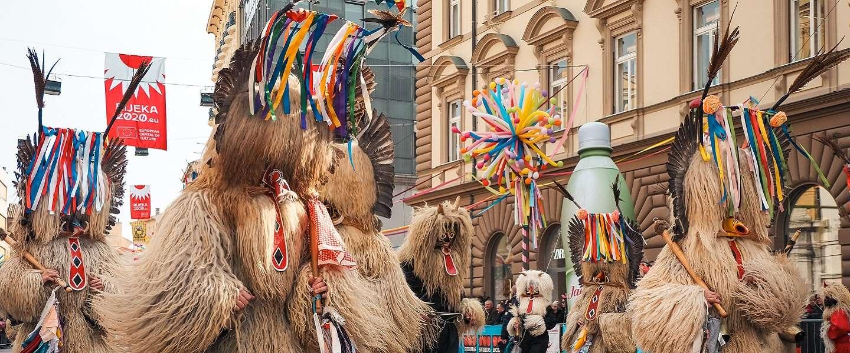 Carnaval vieren in Rijeka: het grootste carnavalsfeest van Kroatië