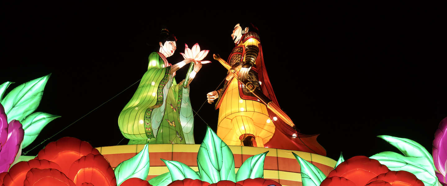 China Light ZOO: magisch lichtfestival in Antwerpen
