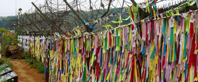 DMZ: het ijzeren gordijn tussenNoord-KoreaenZuid-Korea