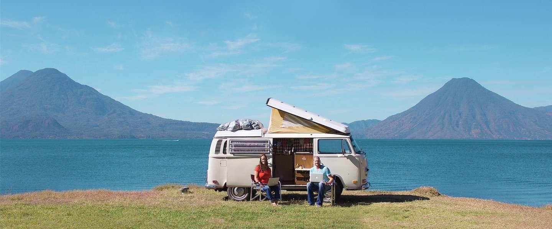 Documentaire: wonen en werken vanuit een Volkwagenbusje