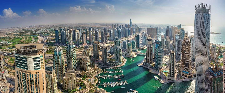 In Dubai wordt de langste indoor skipiste ter wereld gebouwd