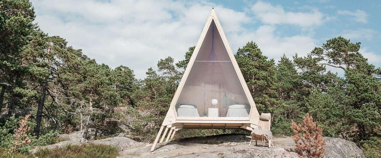 Cool: deze eco-cabine in de Finse natuur