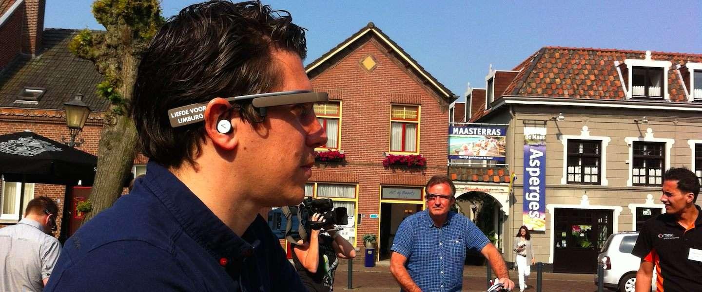 Fietsen door het Maaslandschap met Google Glass