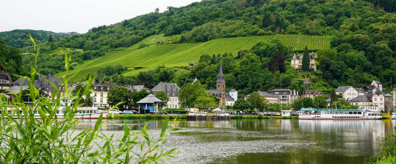 Fietsen langs de Moezel in Duitsland: de populaire Mosel-Radweg