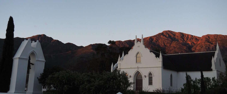 Franschhoek is de gastronomische hoofdstad van Zuid-Afrika