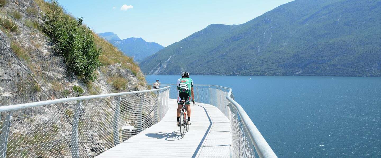 Garda by Bike: ontdek dit nieuwe fietspad rondom het Gardameer