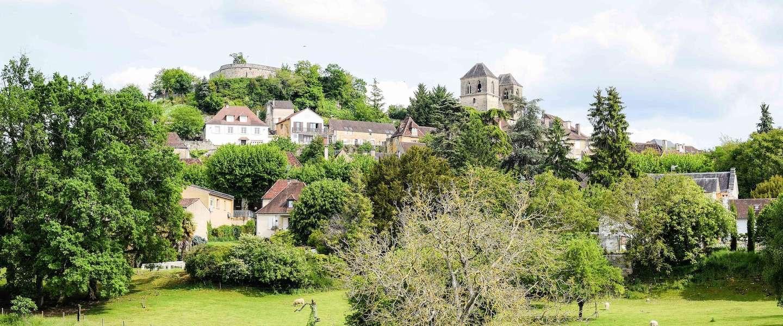 Gourdon, een middeleeuws pareltje aan de rand van de Dordogne