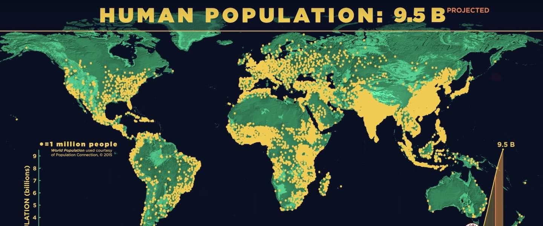 Zie hoe de mensheid zich in 2.000 jaar verspreidt over de planeet