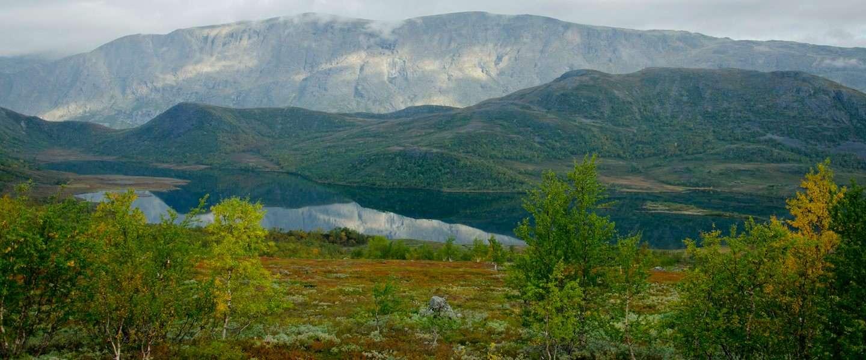Herfst in de Noorse bergen