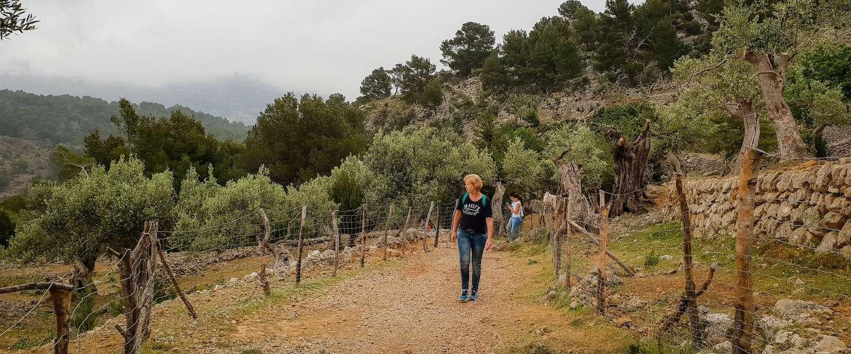 Hiken op Mallorca met tieners