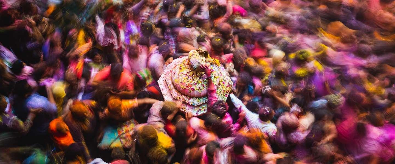 Holi Festival: fotograferen onder de zwaarste omstandigheden