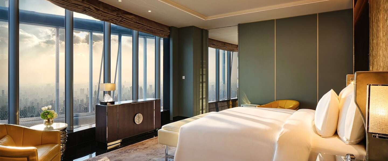 In Shanghai is het J Hotel geopend: het hoogste hotel ter wereld