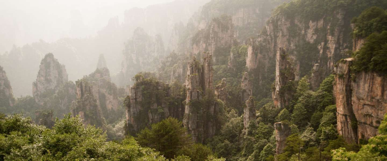 Glazen hangbrug in China, de engste brug ter wereld?