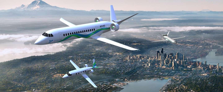 Hybride vliegtuigen komen eraan