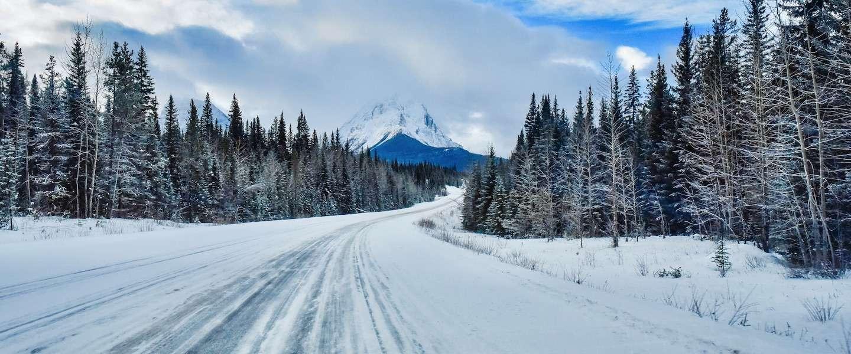 Icefields Parkway in de winter: een droomweg om te rijden