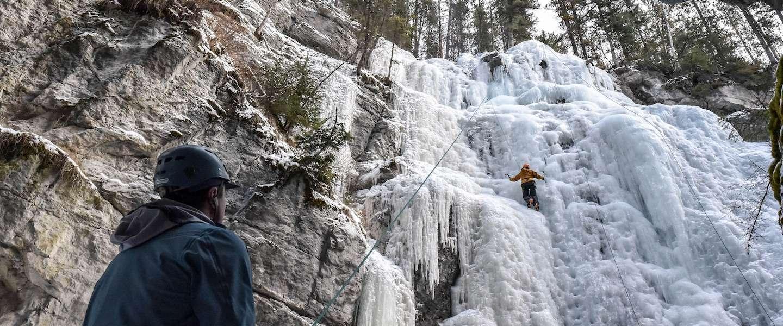 IJsklimmen in Canada: de ultieme kick voor avonturiers