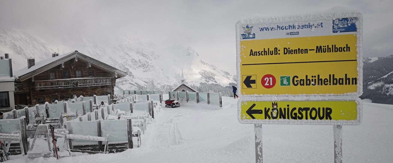 Must do in Hochkönig: de culinaire Königstour op ski's