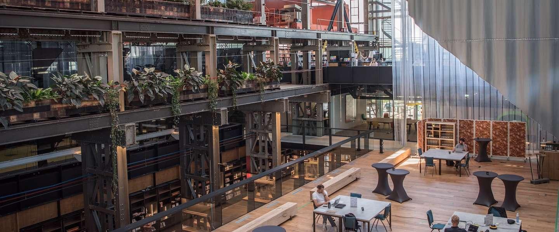 Fabriekshal LocHal in Tilburg is uitgeroepen tot mooiste gebouw ter wereld