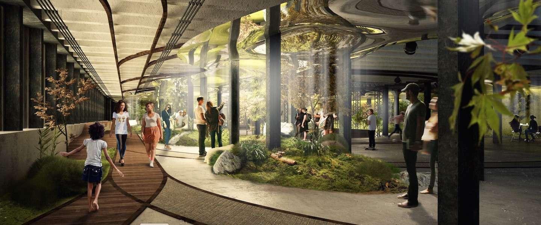 New York krijgt een ondergronds park: The Lowline