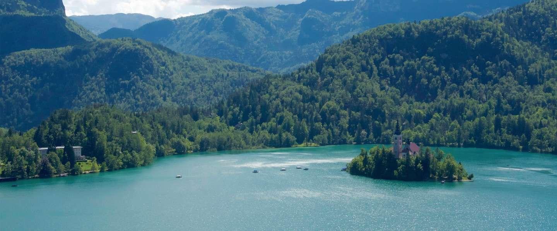 Het meer van Bled in Slovenië: sprookjesachtig mooi