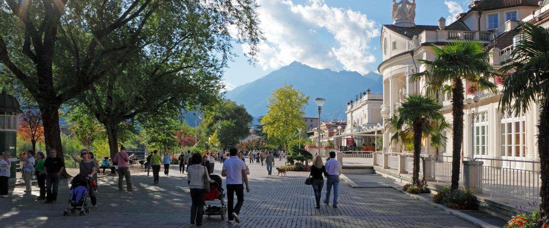 Alpentoppen en Italiaanse flair in Merano