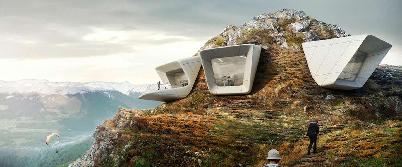 Tip in Zuid-Tirol: bergmuseum MMM Corones