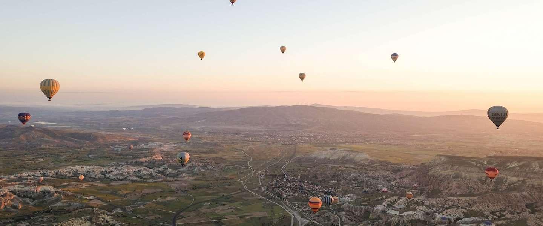 De 4 mooiste plekken ter wereld voor een ballonvaart