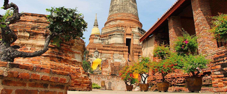 De 5 allermooiste tempels van oud-Thailand