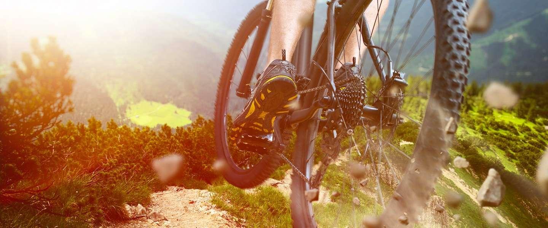 Met de mountainbike naar de Ardennen
