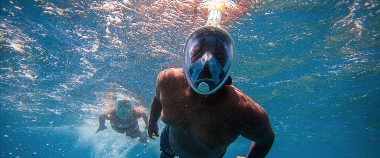 Snorkelen als een ninja