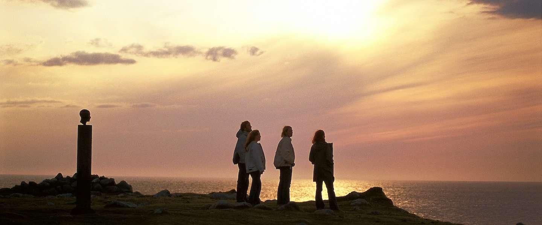 1001 natuurverschijnselen: de middernachtzon op de Noordkaap