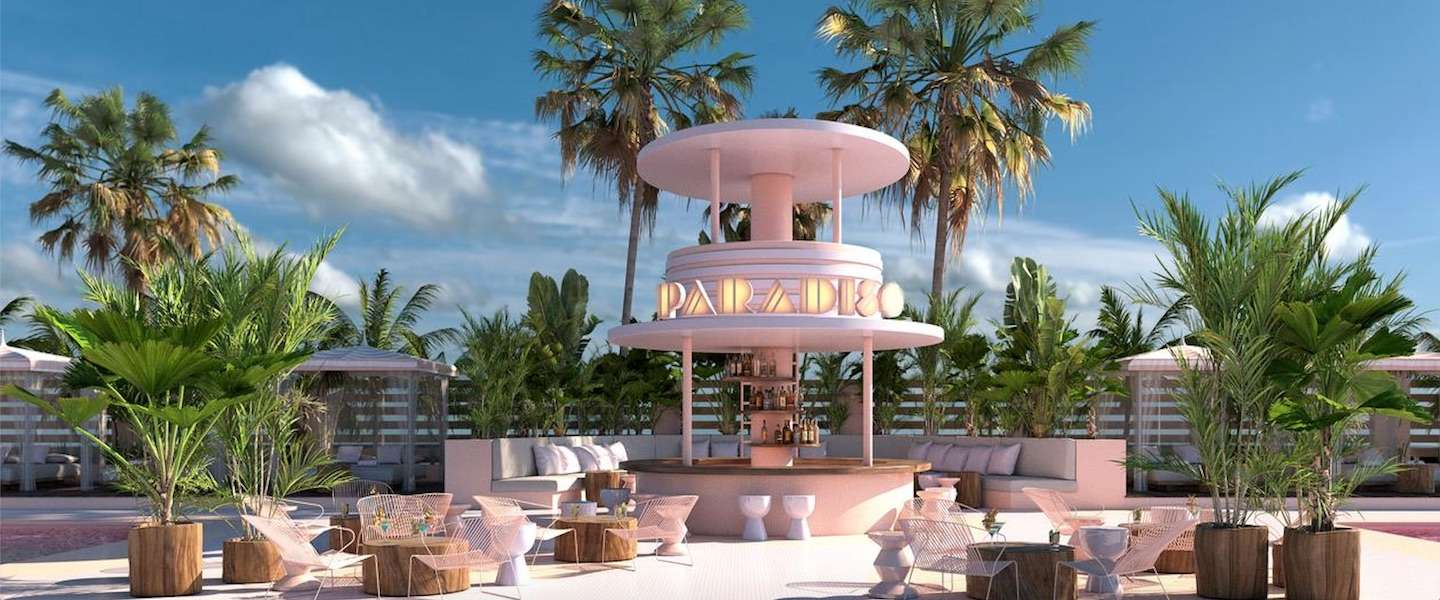 In het Paradiso Ibiza Art Hotel is alles roze