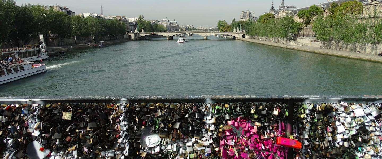 Het einde van de slotjesbrug in Parijs?