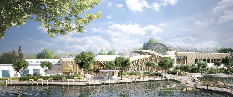 Nieuw: een super luxe en duurzaam park aan de voet van de Alpen