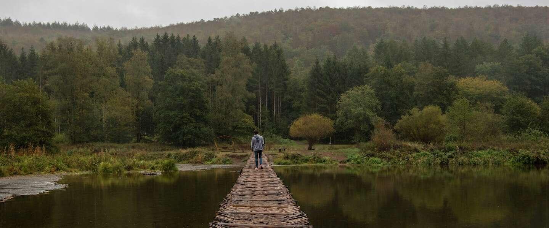 Le Pont de Claies is de mooiste loopbrug van Wallonië