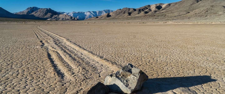 Het geheim van de bewegende stenen van Racetrack Playa