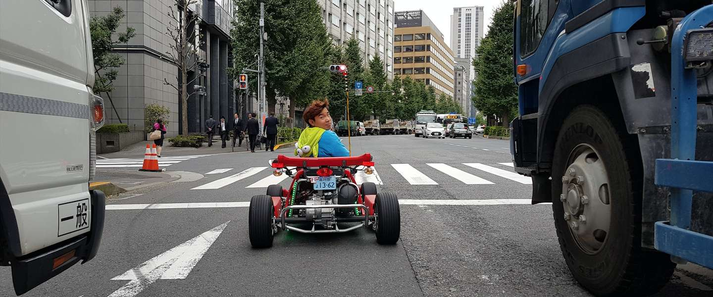 Real Life Mario Kart in Tokyo is levensgevaarlijk leuk