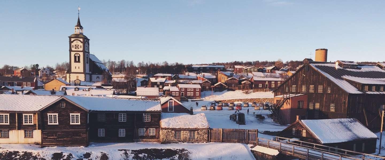 Het Noorse Røros is een sprookje in de winter!