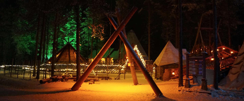Rovaniemi in Finland is de geboorteplaats van de kerstman