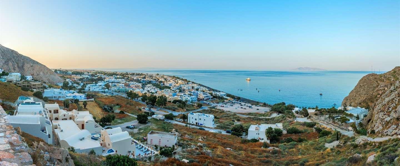 5 hotspots op de boulevard van Kamari, Santorini