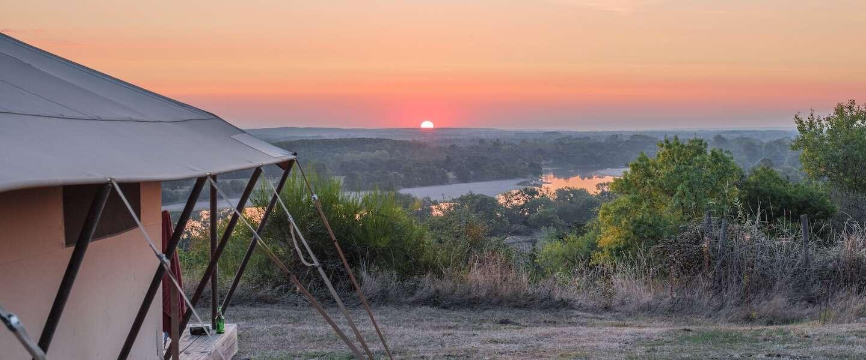 Waanzinnig leuk kamperen in Saumur, met uitzicht over de Loire