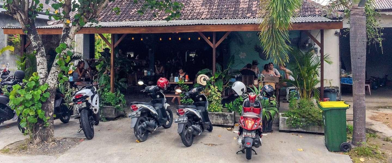 Op de scooter door Bali