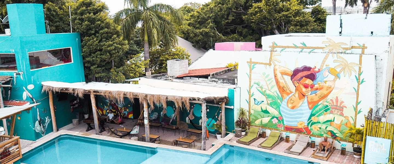 Selina Cancun Downtown: de beste start van je reis door Mexico