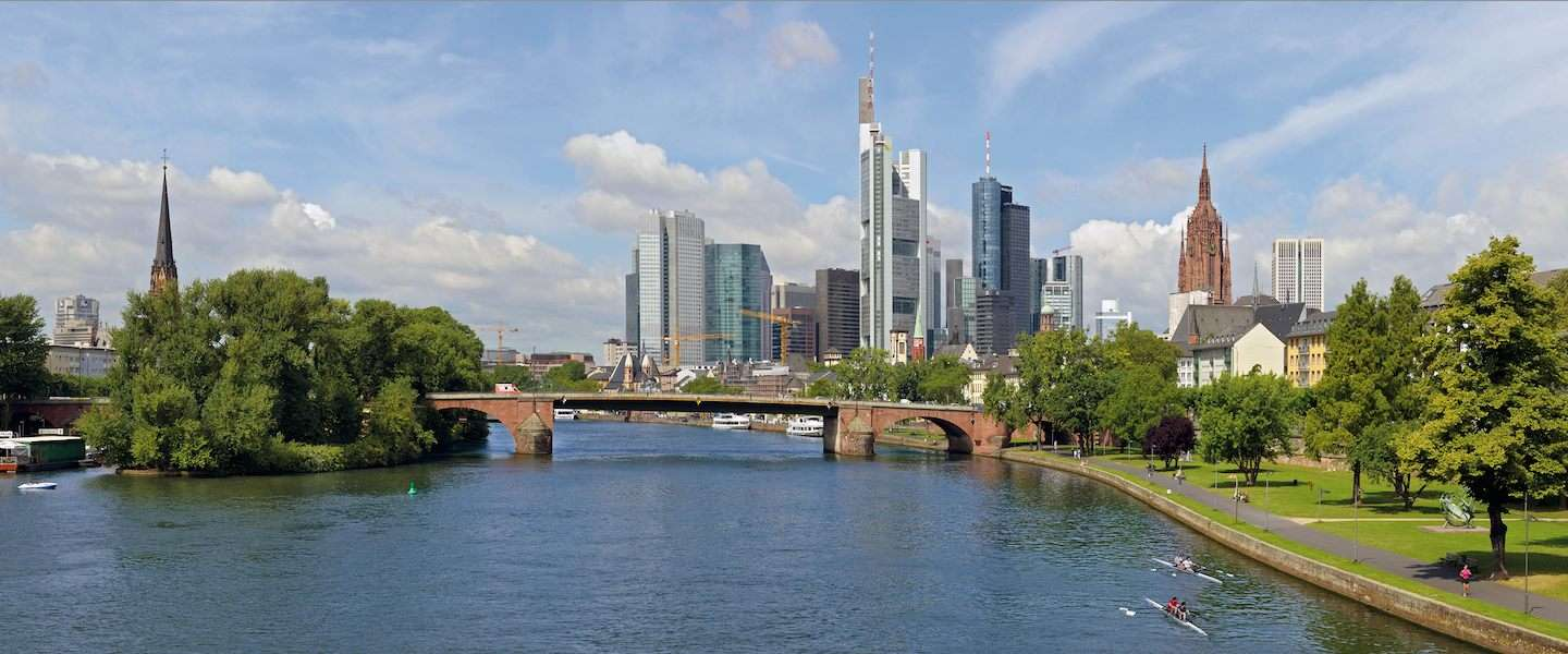 Shoppen in winkelparadijs Frankfurt am Main