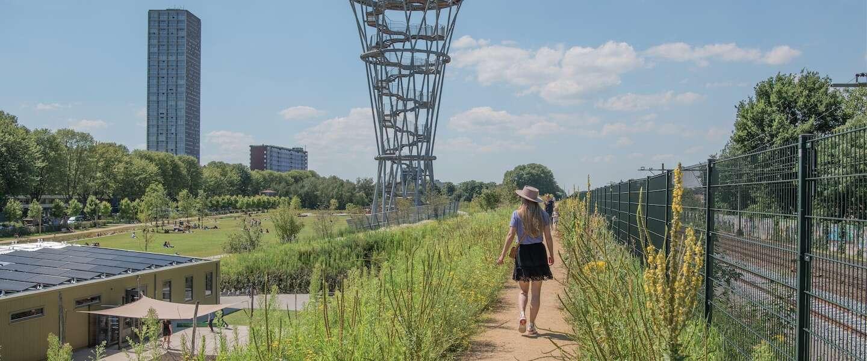 Spoorpark Tilburg is het meest verrassende stadspark van Brabant