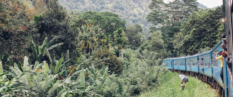 Een van de mooiste treinreizen ter wereld: van Ella naar Kandy in Sri Lanka
