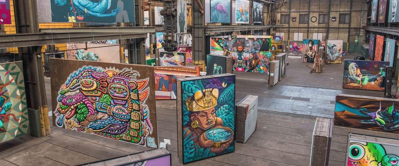 STRAAT in Amsterdam is het grootste street art museum ter wereld