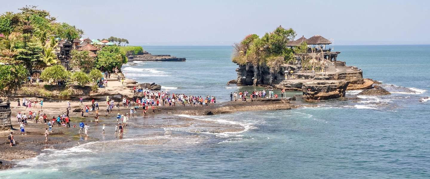 Pura Tanah Lot is de mooiste tempel van Bali