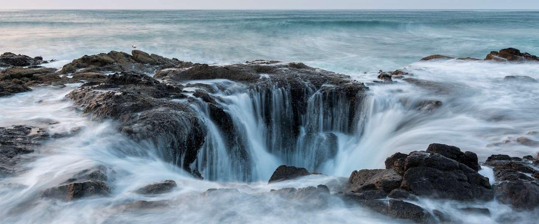 Thor's Well, één van Amerika's natuurwonderen